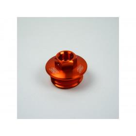 Bouchon supérieur carter d'huile SCAR orange