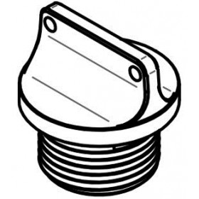 Bouchon de carter d'huile LIGHTECH 2 trous or M22 x 1,5