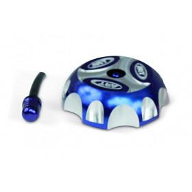 Bouchon de réservoir ART alu bleu quad
