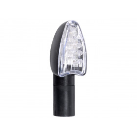 CLIGNOTANTS OXFORD SIGNAL 15 LED LONG NOIR UNIVERSEL