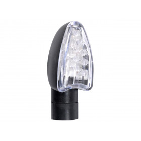 CLIGNOTANTS OXFORD SIGNAL 13 LED COURT NOIR UNIVERSEL