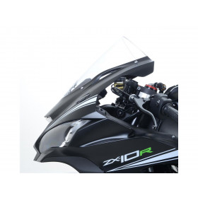 Cache-orifices clignotants R&G RACING noir Kawasaki ZX-10R
