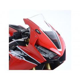 Cache orifices rétroviseur R&G RACING noir Honda CBR1000RR