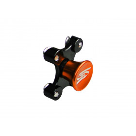 Bouton kit départ SCAR orange