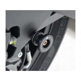 Pions de bras oscillant R&G RACING noir Ducati 899/959 Panigale