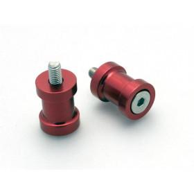 Pions de bras oscillant R&G RACING M8 rouge
