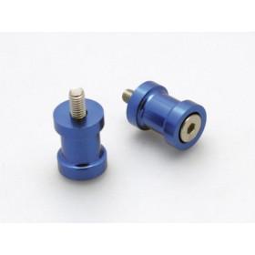 Pions de bras oscillant R&G RACING M8 bleu