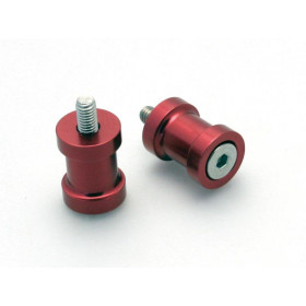 Pions de bras oscillant R&G RACING M6 rouge