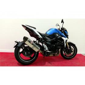 """Support de plaque ACCESS DESIGN déporté """"ras de roue"""" noir Suzuki GSR750"""
