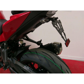 Support de plaque V PARTS noir Suzuki GSX-S750/1000