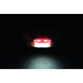 Eclairage de plaque LED LIGHTECH Python couvercle noir entraxe 26mm