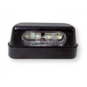 Éclairage LED de plaque d'immatriculation BIHR