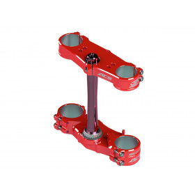 Té de fourche SCAR ACS Offset 22-24mm rouge Honda