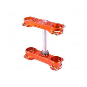 Té de fourche Rocs X-Trig orange KTM EXC/EXC-F 125 & +
