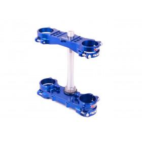 Té de fourche Rocs X-Trig Yamaha bleu YZ250F /YZ450F