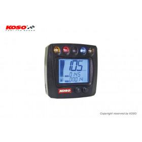 Compteur digital KOSO XR-S 01 mutlifonctions universel
