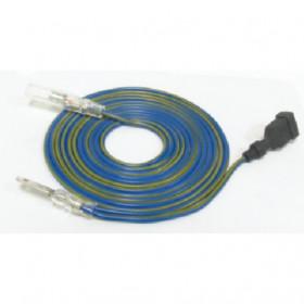 Câble compte-tours KOSO type B jaune/bleu