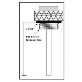 Jauge de température d'huile V PARTS Ø 27x1,5x28