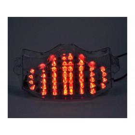 Feu arrière BIHR LED avec clignotants intégrés Yamaha FZ6