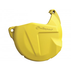 Protection de carter d'embrayage POLISPORT jaune EXC250/300