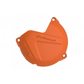 Protection de carter d'embrayage POLISPORT orange KTM