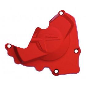 Protection de carter d'allumage POLISPORT rouge Honda CRF250R