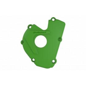Protection de carter d'allumage POLISPORT vert Kawasaki KX450F