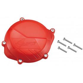 Protège carter embrayage UFO rouge Honda CRF450R