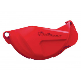 Protection de carter d'embrayage POLISPORT rouge Honda CRF250R