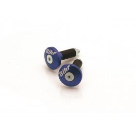 Embouts de guidon Ø12mm BIHR bleu