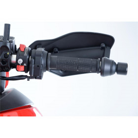 Embouts de guidon R&G RACING noir Ducati Multistrada 950
