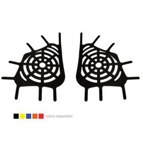 Filet CROSS-PRO Spiderweb rouge