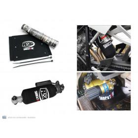 Protection d'amortisseur arrière R&G RACING noir 24,1x29,2 BMW R1200GS Adventure