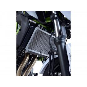 Protection de radiateur R&G RACING noir Kawasaki Z650