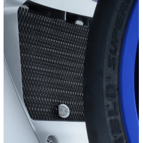 Protection de radiateur d'huile R&G RACING noir Yamaha YZF-R1