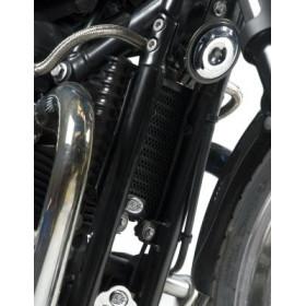 Protection de radiateur d'huile R&G RACING Triumph Bonnevile/Thruxton