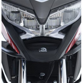 Protection de radiateur d'huile R&G RACING noir Honda VFR800X Crossrunner