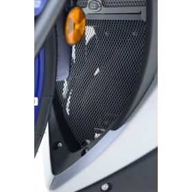 Grille de collecteur R&G RACING noir Yamaha YZF-R3