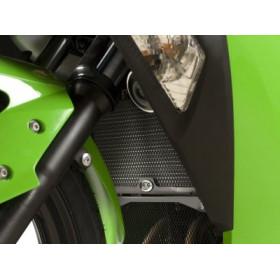 Protection de radiateur R&G RACING noir Kawasaki