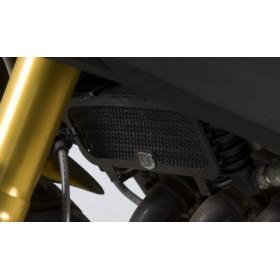 Protection de radiateur d'huile R&G RACING alu noir Benelli TNT 1130 Cafe Racer