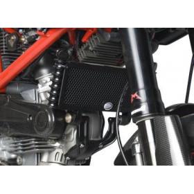 Protection de radiateur R&G RACING noir Ducati Hypermotard S