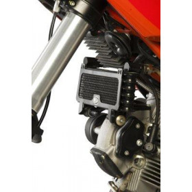 Protection de radiateur (huile) R&G RACING noir Ducati Hypermotard 796