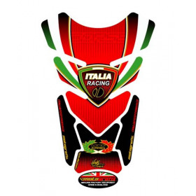 Protection de réservoir MOTOGRAFIX 4pcs rouge Tricolour Ducati