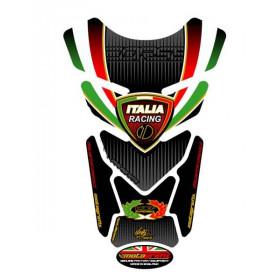 Protection de réservoir MOTOGRAFIX 4pc noir Tricolour Ducati