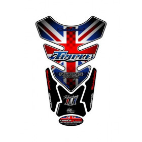 Protection de réservoir MOTOGRAFIX 4pcs Union Jack Triumph