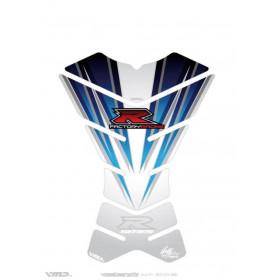 Protection de réservoir MOTOGRAFIX 3pcs blanc Suzuki