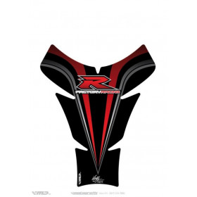 Protection de réservoir MOTOGRAFIX 1pc rouge/noir Suzuki