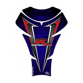 Protection de réservoir MOTOGRAFIX 2pcs bleu Suzuki