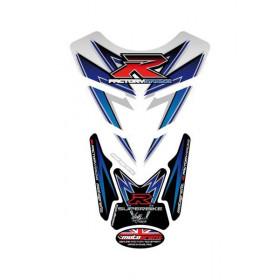 Protection de réservoir MOTOGRAFIX 4pcs blanc Suzuki