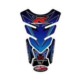 Protection de réservoir MOTOGRAFIX 4pcs bleu Suzuki